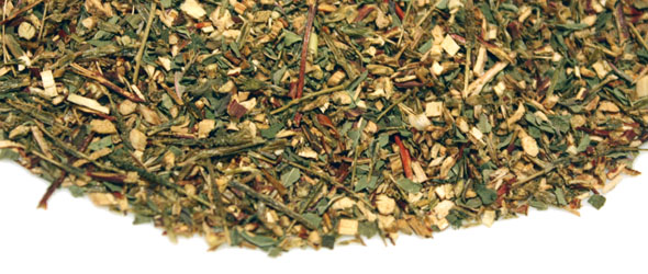 Review: Organic Green Rooibos Tea with Peppermint, Suffuse Tea